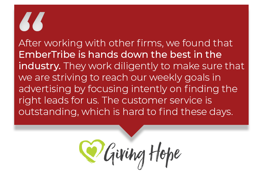 Testimonial_C2: After working with other firms, we found that EmberTribe is the best in the industry.