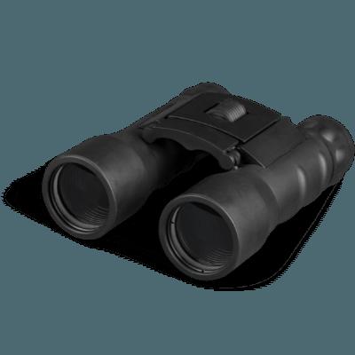 Binocular icon transparent