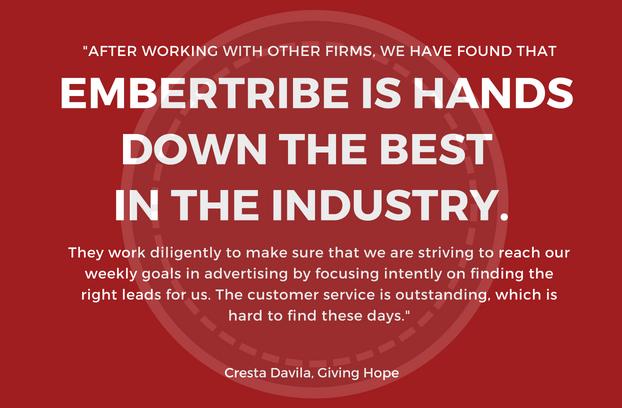 Cresta Davila, Giving Hope