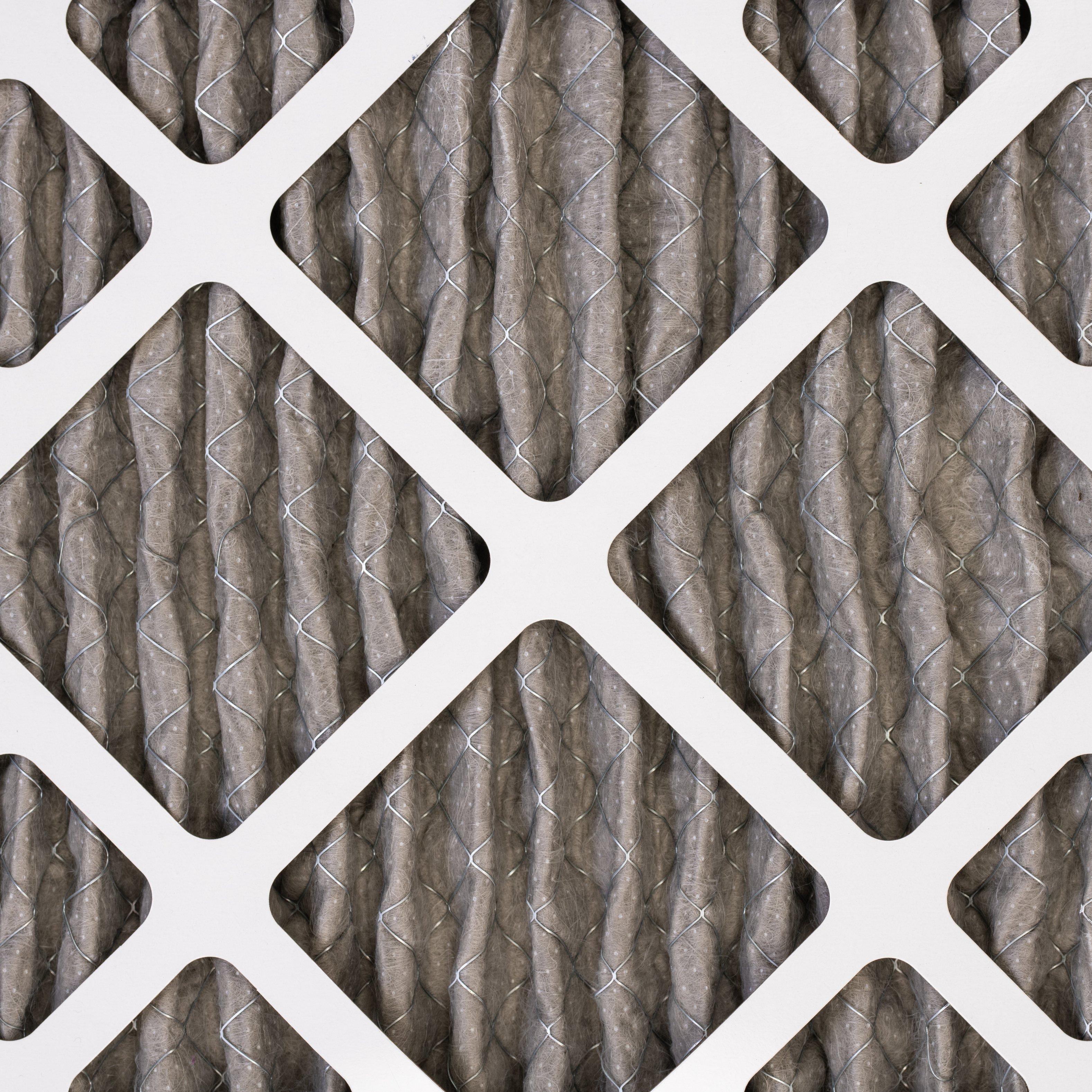 Air filter up close