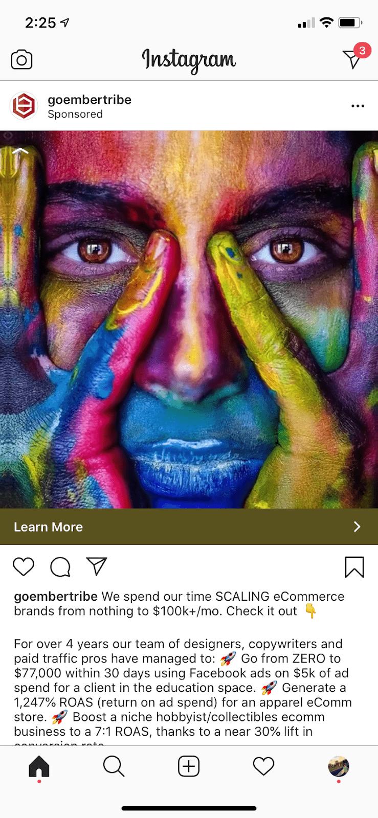 ET ad example