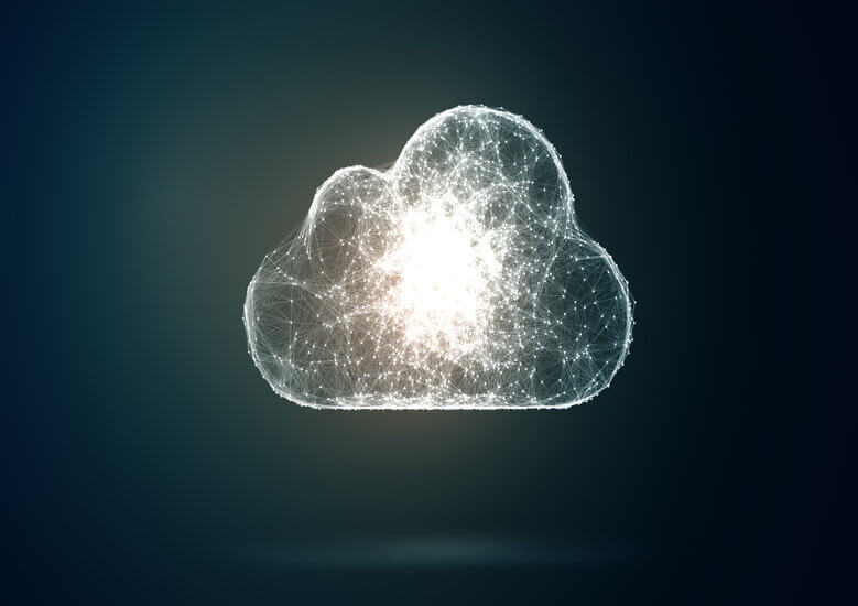 Image of cloud representing SaaS